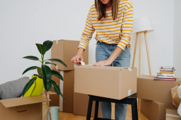 Save money on your move by packing yourself.